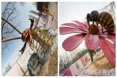 Парк гигантских насекомых ВДНХ