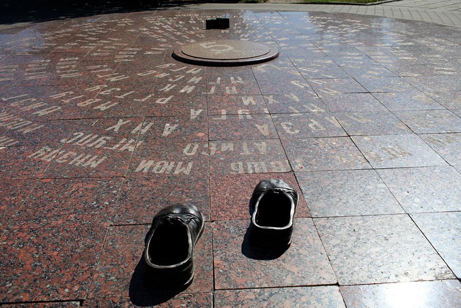 Памятник приметам студентов
